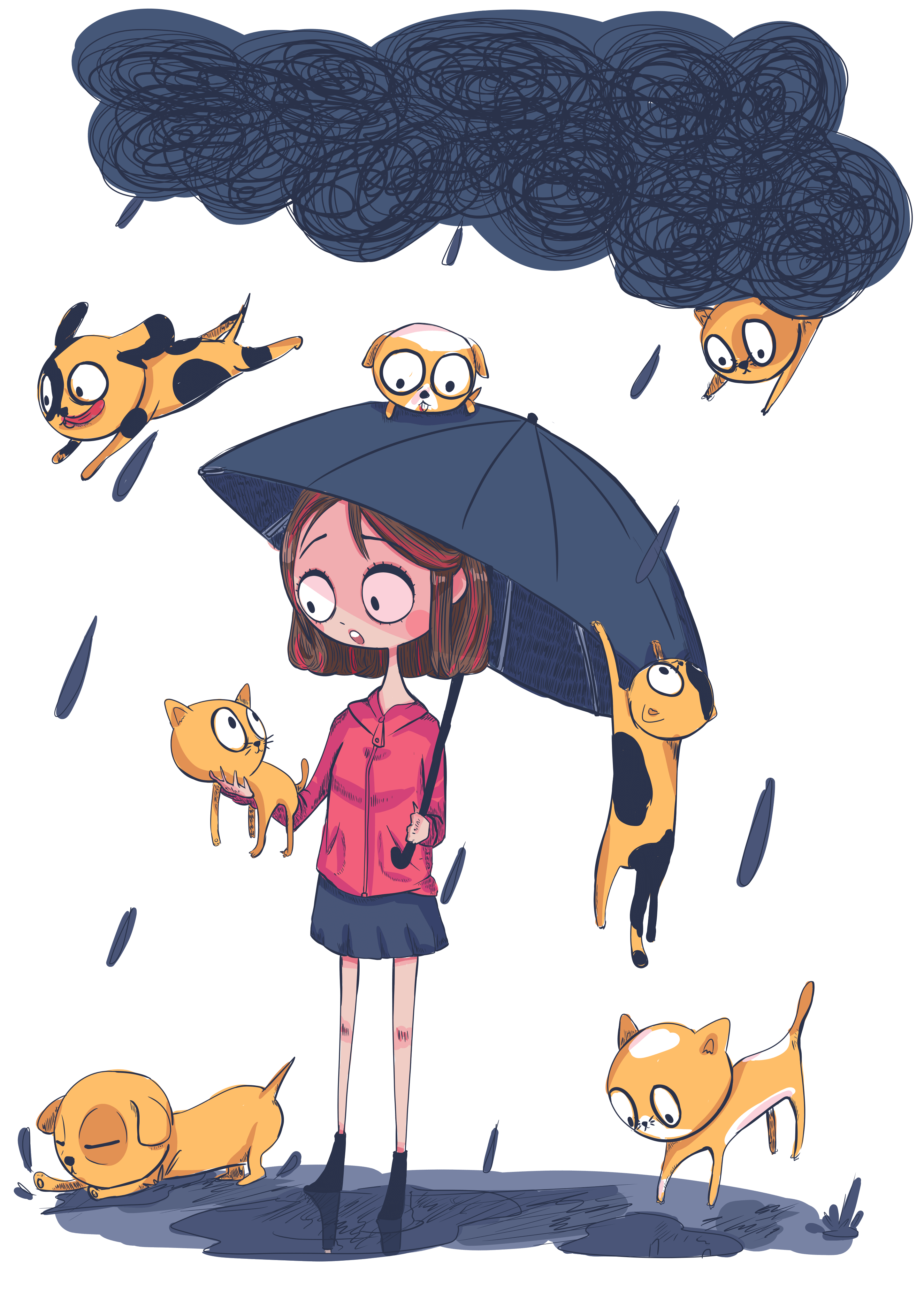 Its Raining Cats and Dogs_Beatrice Baylosis