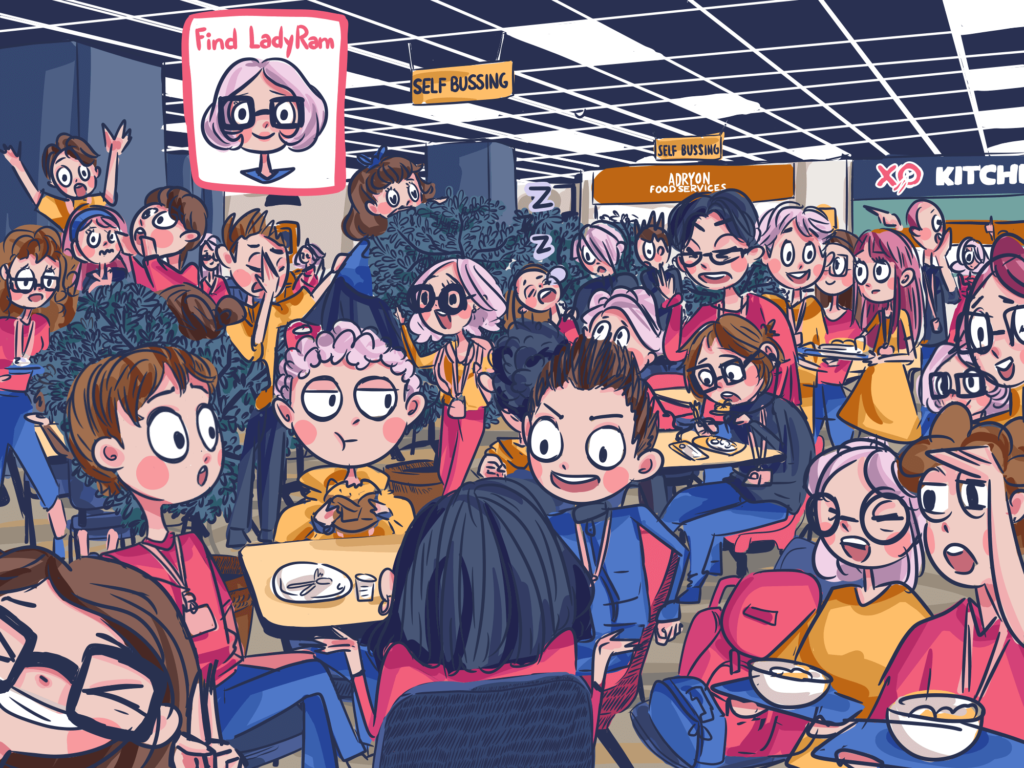 Lunch Hour by Beatrice Baylosis